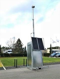 Funkwerk Mobile-Kamerastation with PV